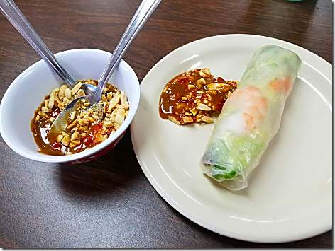 Asian BBQ Spring Rolls 2