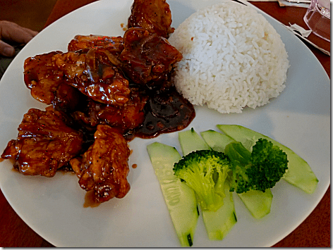 Pho 20 General Tso's Chicken