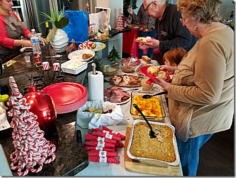 Brandi Christmas Dinner 2017