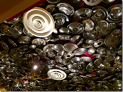 Chuy's Ceiling