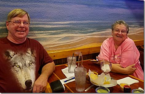 Wil and Cyndy at La Brisa