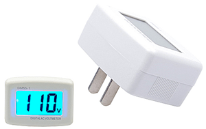 AC Voltmeter for 50 amp Tester
