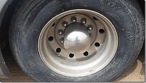 Rig Rear Wheel Before