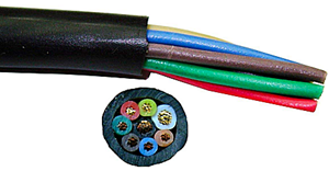 8 Conductor Rotor Wire