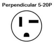 AC 5-20P Plug