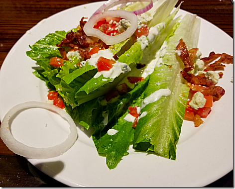 Longhorn Wedge Salad