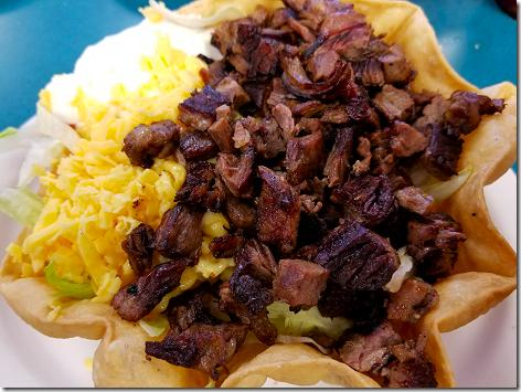 Los Ramirez Beef Fajita Taco Salad 2