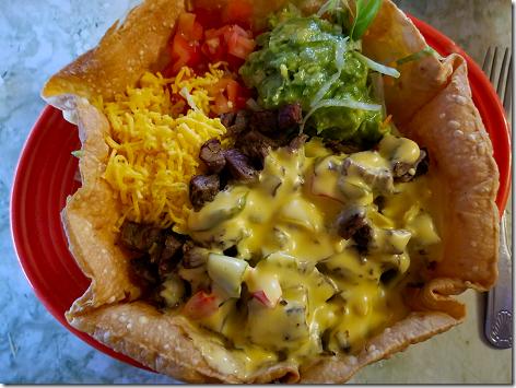 El Bosque Beef Fajita Taco Salad