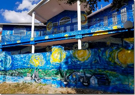 Starry Night House 3