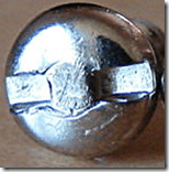 Notched Spanner Security Screw 2