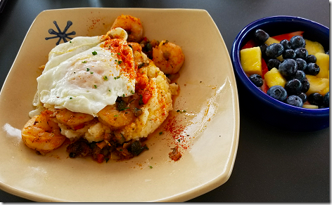 Snooze Shrimp & Grits 3