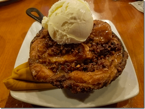 Saltgrass Kemah Pecan Pie Bread Pudding