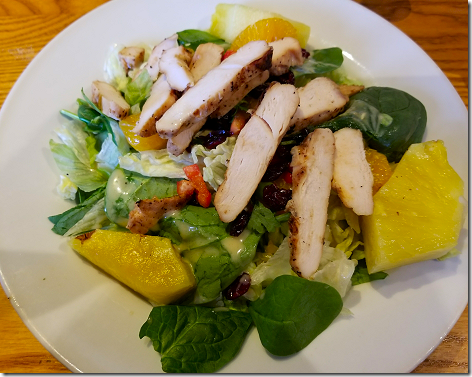Chili's Grilled Chicken Caribean Salad