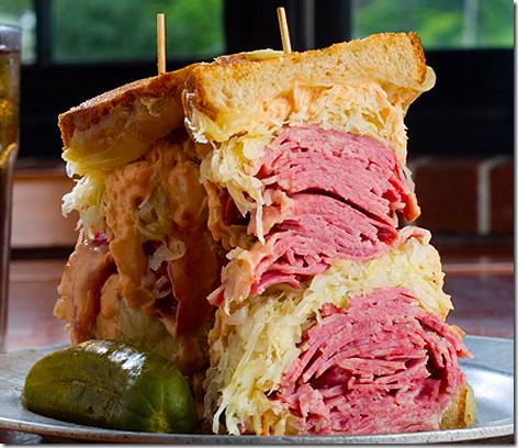 Katz's Deli Reuben Sandwich