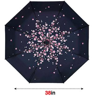 Compact Umbrella Pink Peach