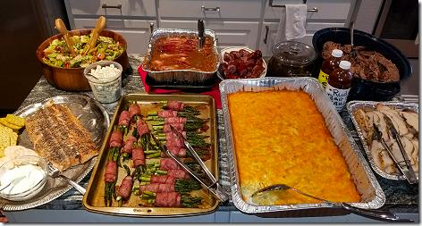 Brandi's Easter Buffet