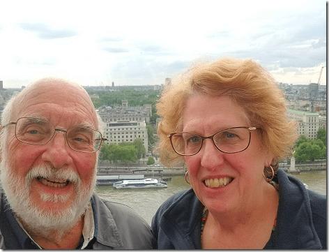 London Total Tour Eye Selfie