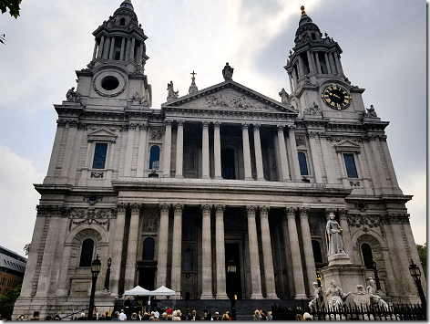 London Total Tour St Paul's Cathedral
