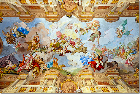 Melk Abbey Interior View 3
