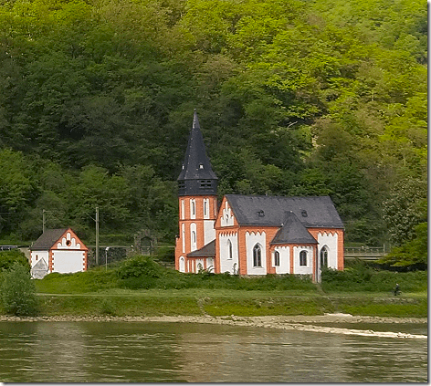 Cruising The Rhine Church
