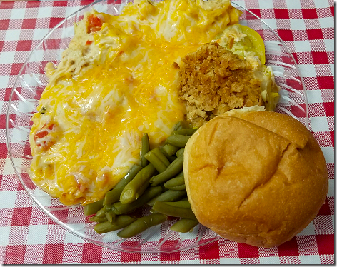 Red Dirt Cafe King Ranch Chicken