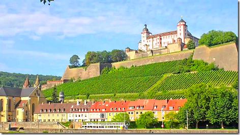 Wurzburg Marienberg Fortress 1a
