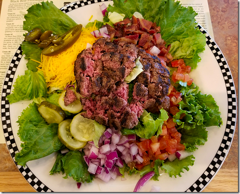 Black Bear Bacon Cheeseburger Salad 2