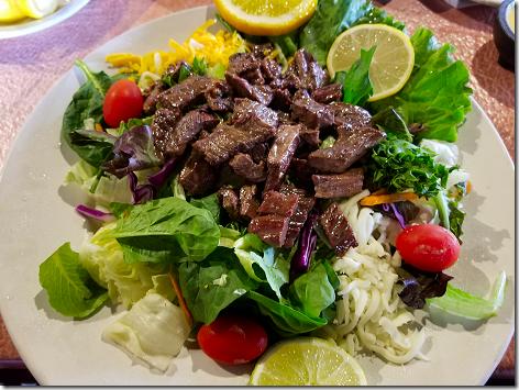 El Asador Beef Fajita Taco Salad