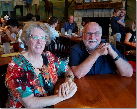 Saltgrass Kemah 52nd Anniversary Greg and Jan