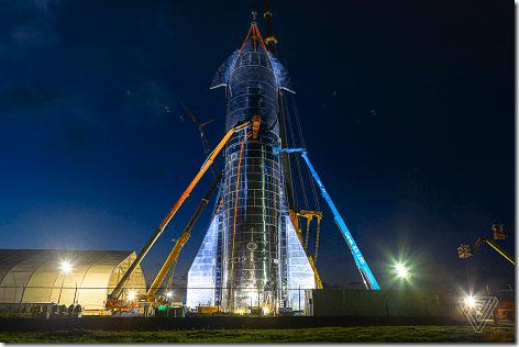 SpaceX Starship Mk1-2