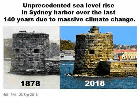 Sydney Harbor Climate Change