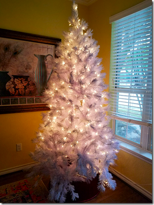 Brandi 2019 White Christmas Tree