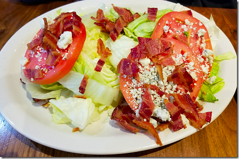 Junior's Wedge Salad