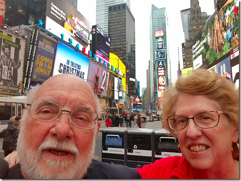 Last Selfie In Times Square