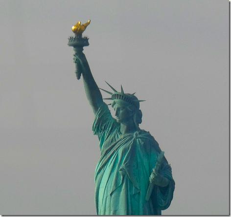 Staten Island Ferry - Statue of Liberty 1