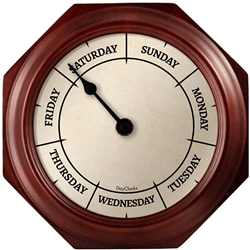 Analog RV Day Clock