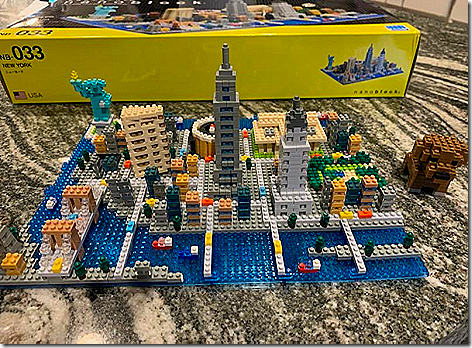 NYC Skyline Puzzle Finished