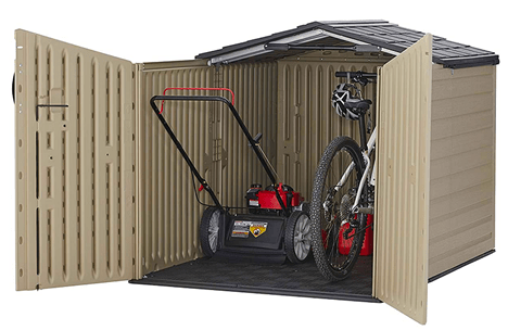 Plastic Shed 3
