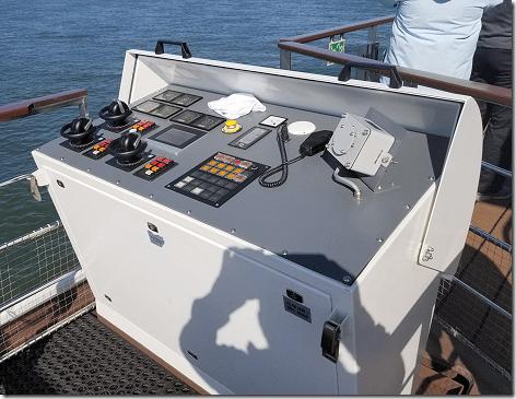 Cruising The Rhine Aux Control Panel