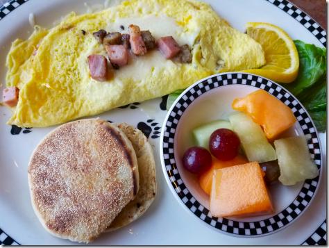 Black Bear Meat Lover's Omelet