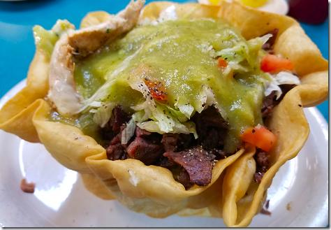 Los Ramirez Beef Fajita Taco Salad 5a