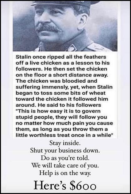 Stalin's Chicken