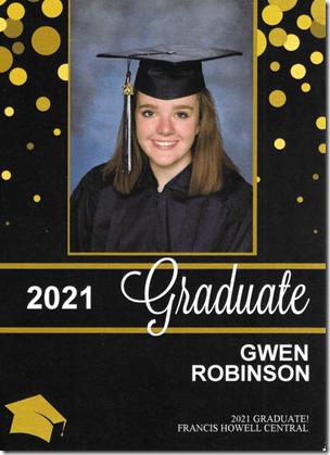 Gwen Graduation 3