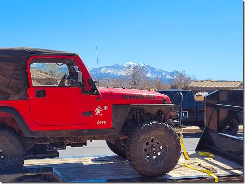 Chris' Utah Trip 2 Franken Jeep