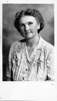 Grandmother Clara Calvin