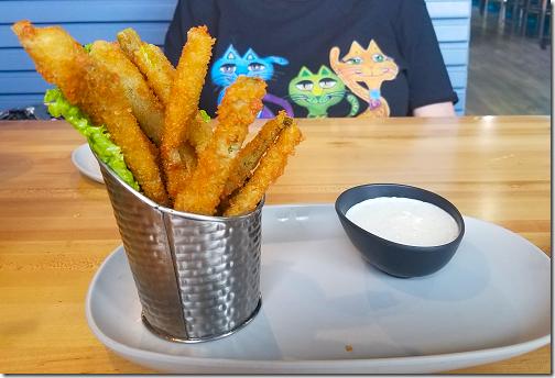 Gator's Asparagus Fries