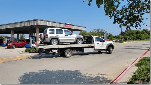 Jeep Towed 2