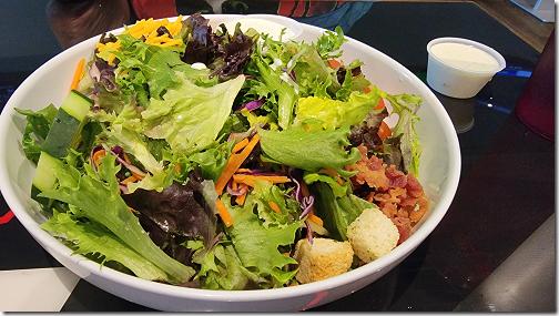 Texas Huddle Grill Garden Salad 20211007