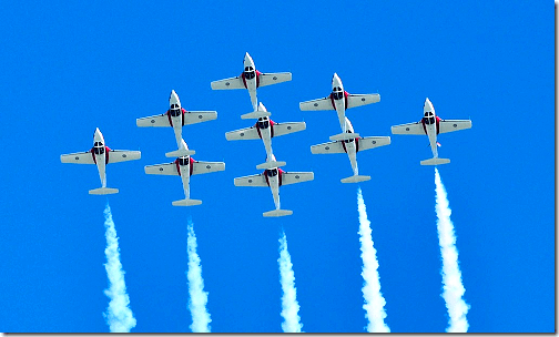Wings Over Houston CAF Snowbirds