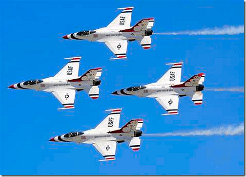 Wings Over Houston USAF Thunderbirds